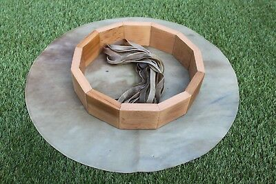 "18"" Drum Birthing Kit. Deer Rawhide Drum Making Kit.Make Your Own Hand Drum."