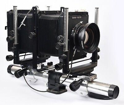 Toyo View 45G Large Format 4x5 Camera Schneider Symmar-S 5.6/300 Lens Copal 3