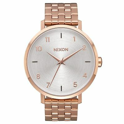 Nixon Arrow Homme Montre - All Rose Gold White Une Taille