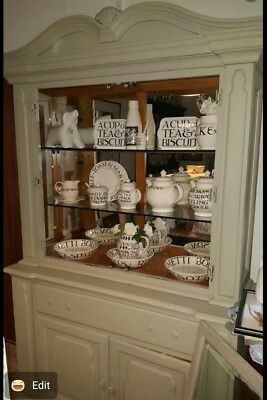 Welsh Dresser Display Cabinet French Style Shabby Chic