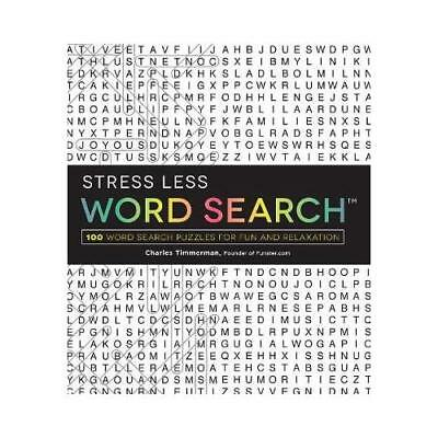 Stress Less Word Search by Charles Timmerman (author)