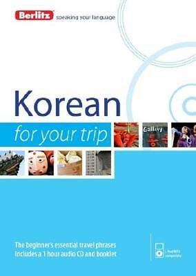 Korean for Your Trip by Berlitz (author)