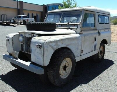 1964 Land Rover Other  1964 Land Rover 88 Series IIA- Long Time Sitter-Solid Rustfree Project-Original