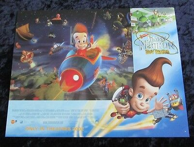 Jimmy Neutron lobby card # 3 Nickelodeon - 11 x 14 inches