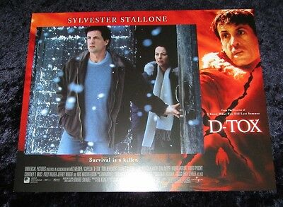 D-Tox lobby card # 1 - Sylvester Stallone - 11 x 14 inches