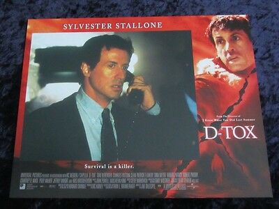 D-Tox lobby card # 6 - Sylvester Stallone - 11 x 14 inches