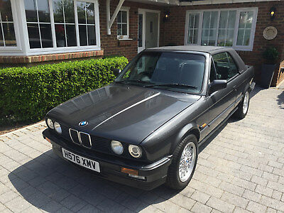 BMW 325i CONVERTIBLE MOTORSPORT EDITION 1990 12950 MILES WITH HARDTOP SUPERB