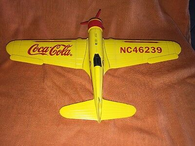 Coca Cola Collectible 1932 Northrop Gamma Die-Cast Metal Airplane Coin Bank