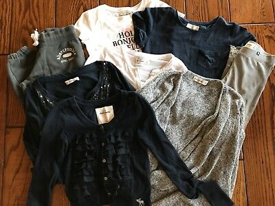 Abercrombie & Fitch Girls Clothes Mixed 8 Items Size M