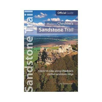 Walking Cheshire's Sandstone Trail by Tony Bowerman (author)