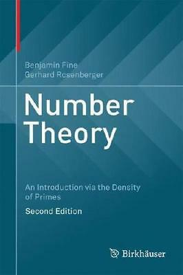 Number Theory by Benjamin Fine (author), Gerhard Rosenberger (author)