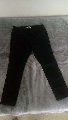 New Look Maternity Black Skinny Pregnancy Under Bump Jeans Jeggings Size 12