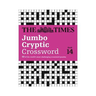 The Times Jumbo Cryptic Crossword Book 14 by The Times Mind Games (author), R...