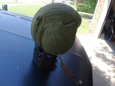 WWII USAAF Army Air Force M4A2 Flak Helmet WW2