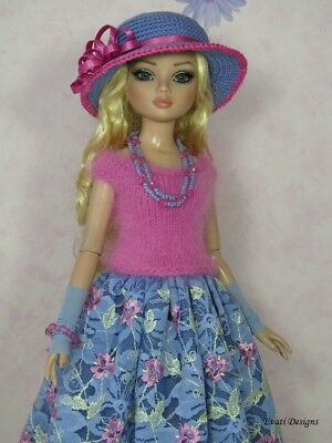 *evati* OOAK outfit for ELLOWYNE WILDE * AMBER * LIZETTE * Tonner *4*