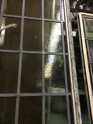 Metal Window. Casement Window Sash Window Antique Metal Leaded Stained Glass