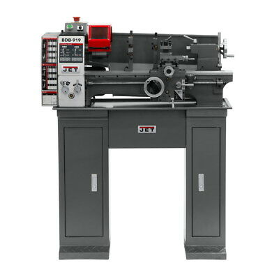 JET BDB-919 Belt Drive Bench lathe with stand installed 321370K