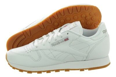 9b6c1784a8ee97 Reebok Classic Leather 49801 White Gum Fashion Casual Shoes Medium (B