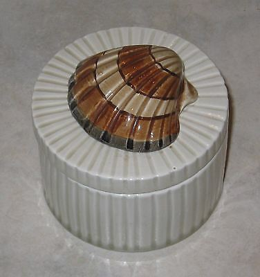 Splendid Fitz & Floyd Coquille Sea Shell Trinket Box-Mint Condition
