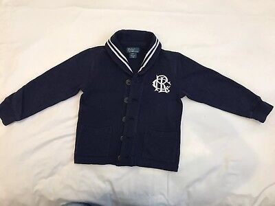 Polo Ralph Lauren boys Cardigan Size 4
