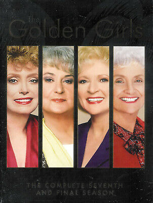 The Golden Girls Complete Seventh And Final Season New Factory Sealed 3-Disc DVD