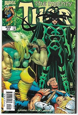 1998 The Mighty Thor Issue #2 Marvel Comic Book Bag/board Vg-Mint Unread Rare
