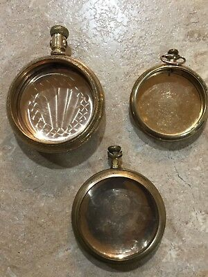 Gold Filled Pocket Watch Cases For Gold Recovery Or Use 106 Grams