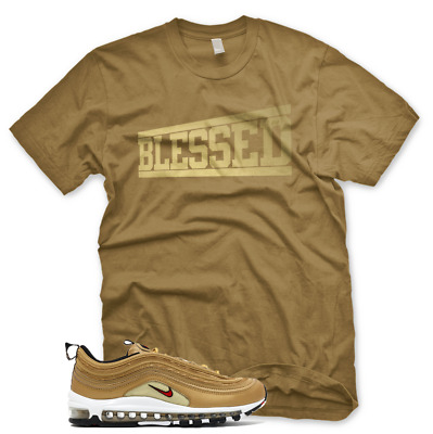 aa3db2f9c2ff1 NEW BLESSED T Shirt for Nike Elemental Rose Foamposite Dust Gold ...