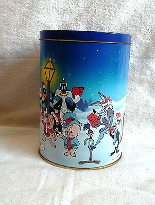 1990 - Looney Tunes - Road Runner & Friends Holiday - Metal Container