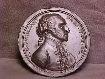 George Washington Presidential Retirement Medal 1797  XF