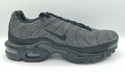 huge discount 22225 8e665 Nike Air Max Plus Quilted TN Tuned 1 Wool Grey Black Anthracite 806262-022  RARE
