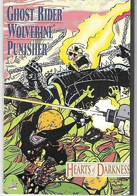 1991 Ghost Rider Issue #1 Marvel Comic Book Bag/board Vg-Mint Punisher Wolverine