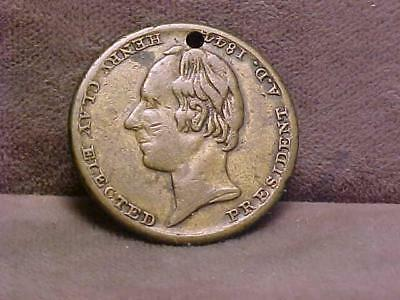 Henry Clay Whig Presidential Political Campaign Token 1844