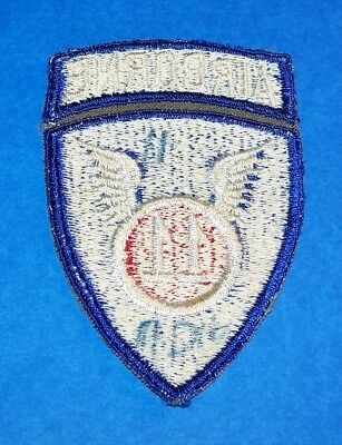 ORIGINAL CUT-EDGE POST WW2 GERMAN MADE 11th AIRBORNE DIVISION PATCH