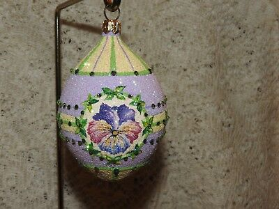 Patricia Breen Jeweled Store Exclusive Medium Egg Pansy