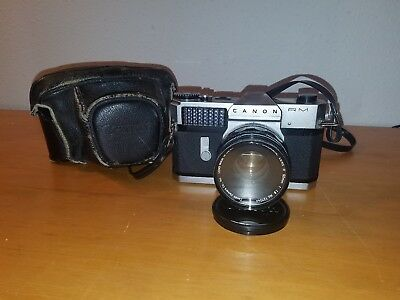 Canonflex Rm Camera With  Super-Canonmatic Lens R 50Mm