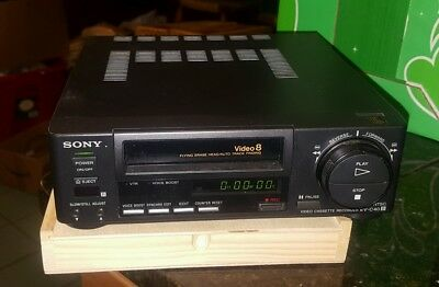 SONY EV-C40 Video8 8mm VCR Editing Player Working Condition