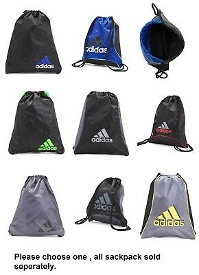 21e7138e064f ADIDAS UNISEX SACKPACK Backpack / Athletic Gym sack / Sackpack Various  colors