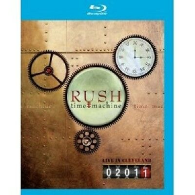 "Rush ""Time Machine 2011-Live In Cleveland"" Blu-Ray New+"