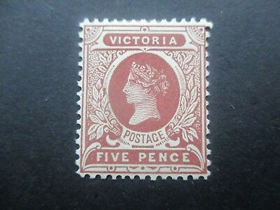 Victoria Stamps: 5d Brown  Mint  (r125)