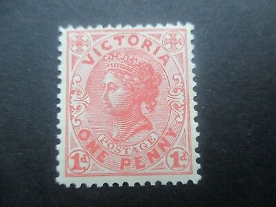Victoria Stamps: 1d Red Mint  (r130)