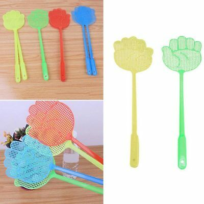 3pcs Plastic Swat Pest Control Hand Insect Fly Wasp Bug Killer Fly Swatter