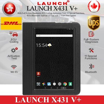 LAUNCH X431 V+ ScanPad Auto Diagnostic Scanner Reader Tool pro3 Key Programming