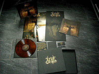 ATTIC - The Invocation Deluxe BOX LP ; MC ; CD ; signed / Cruel Force;Iron Cobra