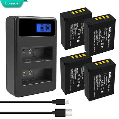 NP-W126 NP-W126S Battery Dual Charger for Fujifilm X-M1 X-A1 X-T1 X-E1 X-Pro2 TP