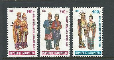 1987 Art & Culture set 3 stamps complete MUH/MNH