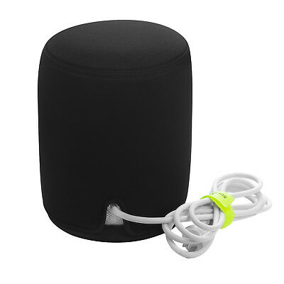 Soft Padded Protect Cover Caisse Apple Homepod Haut-parleur Speakers Noir OEM WH