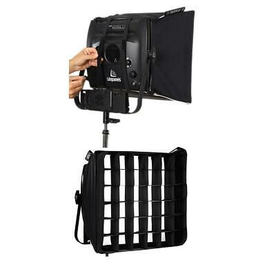 Litepanels Snapbag Softbox for Astra 1x1 and Hilio D12/T12 LED Lights W/Grid