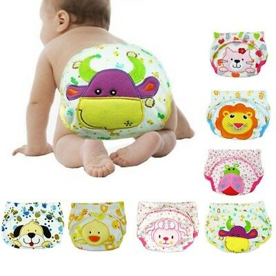 Baby Boy Girl Infant Kid Toilet Pee Potty Training Pants Cloth Diapers Underwear