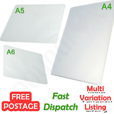 A4, A5 or A6 Quality Laminating Pouches 25, 50 or 100pcs 150 micron Laminator UK